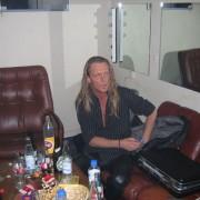 Johnny Christensen - Backstage